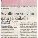 Aamulehti 2.2.2014